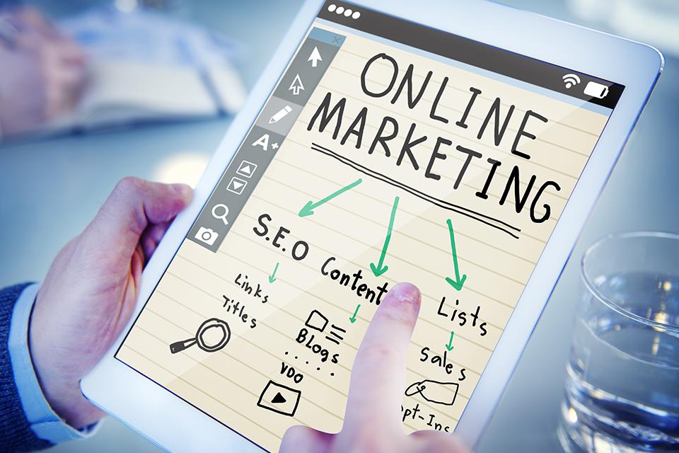 Схема онлайн маркетинга